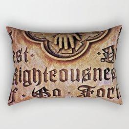 Righteousness Rectangular Pillow