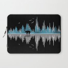 The Sounds Of Nature - Music Sound Wave Laptop Sleeve