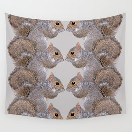 Squirrel Whispers Wall Tapestry