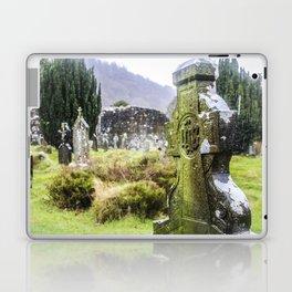 Travel to Ireland: Glendalough's Rest Laptop & iPad Skin