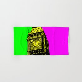 Big Ben - In all her coloured glory... Hand & Bath Towel
