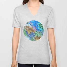 INSPIRED BY GAUDI Unisex V-Neck