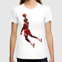 lakers T-shirts featuring MJ  by VeilSide07