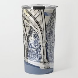 Porto post card Travel Mug
