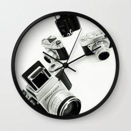 cameras Wall Clock