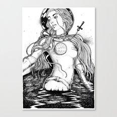Aurora's Last Escape Canvas Print