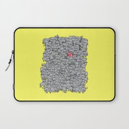 Stand Out & Be Herd Laptop Sleeve
