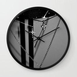 Crossing. Wall Clock