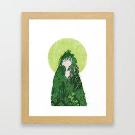 Saint Plant Framed Art Print