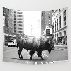 STREET WALKER Wall Tapestry