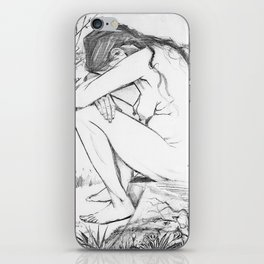 Sorrow (After Vincent Van Gogh)  iPhone Skin