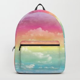 Clouds in a Rainbow Unicorn Sky Backpack