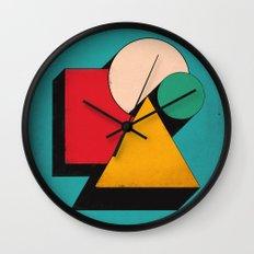Shapeville Wall Clock