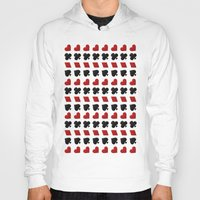 suits Hoodies featuring Card Suits by •ntpl•