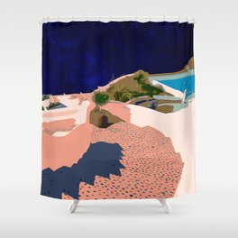 Greece #society6artprint #society6 #buyart Shower Curtain