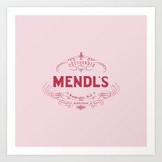 MENDL'S Art Print