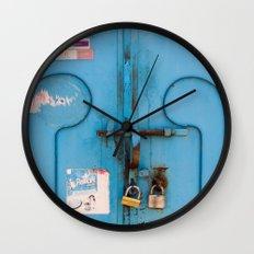 Moroccan Door Wall Clock