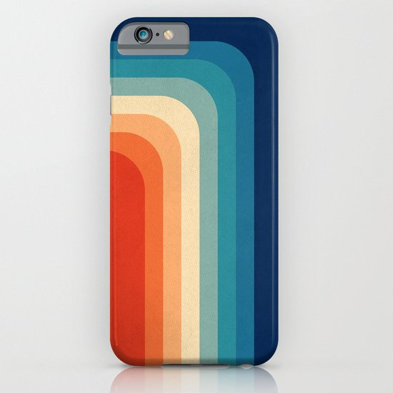 Retro 70s Color Palette III iPhone Case by Alisa Galitsyna ...