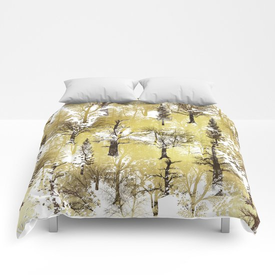 Winter Trees Pattern Comforters