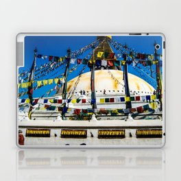 Prayers on the wind Laptop & iPad Skin