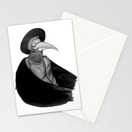 Plague Doctor by Studinano Stationery Cards