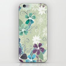 Summer blossom iPhone & iPod Skin