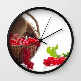 Fresh fruity Decorating Wall Clock