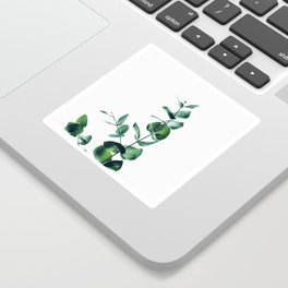 Eucalyptus branch Sticker