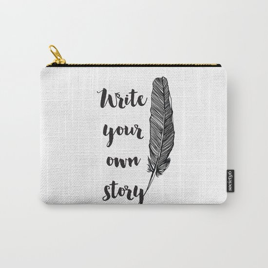 Write your own Story Carry-All Pouch