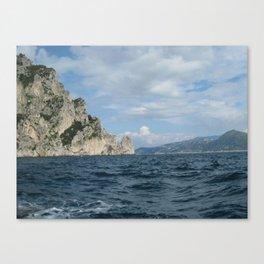 The Island of Capri Canvas Print