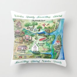 The North End Throw Pillow