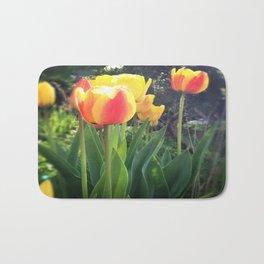 Spring Tulips in Bloom Bath Mat