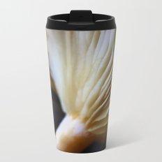 Mushroom Macro Metal Travel Mug