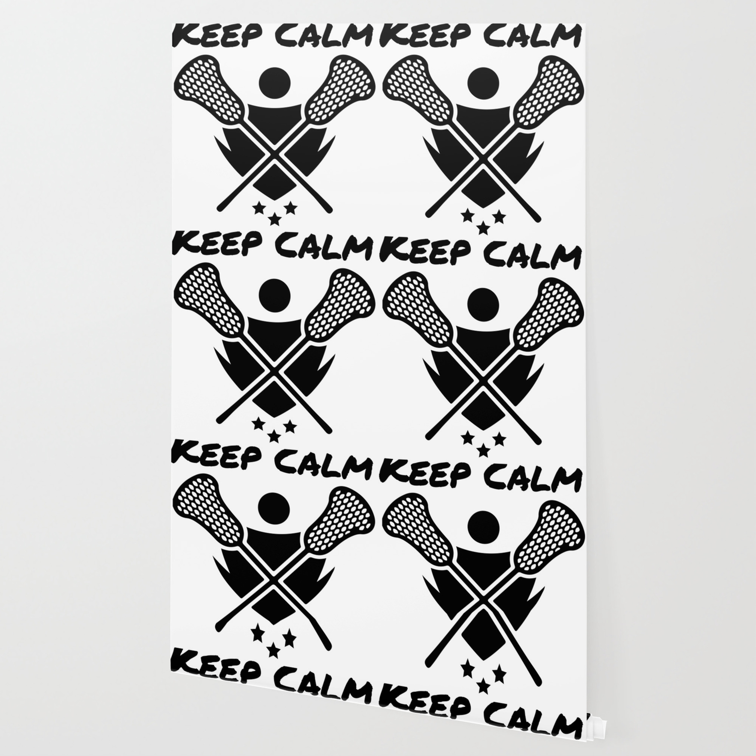 Lacrosse Keep Calm And Lax On Lacrosse Player Wallpaper By