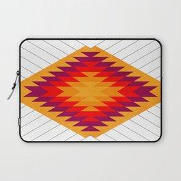 053 Traditional navajo pattern interpretation Laptop Sleeve