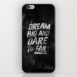II. Dream big iPhone Skin