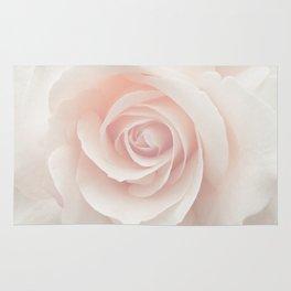 Blush Pink Rose Rug