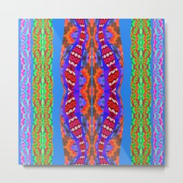 Them Dreamtime Snakes Again No. 4 Metal Print