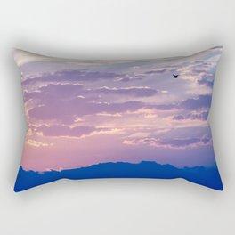 fly solo Rectangular Pillow