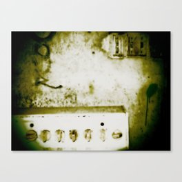 dirty knob Canvas Print