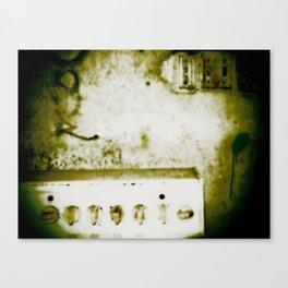 dirty knob Canvas Print