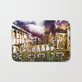 New Orleans cemetery Bath Mat
