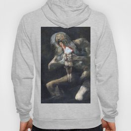 Francisco de Goya - Saturn Devouring His Son 1823 Artwork for Wall Art, Prints, Posters, Tshirts, Men, Women, Youth Hoody