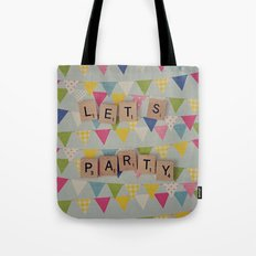 Lets Party Tote Bag