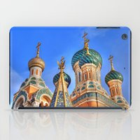 russia iPad Cases featuring Basilica in Russia  by Limitless Design