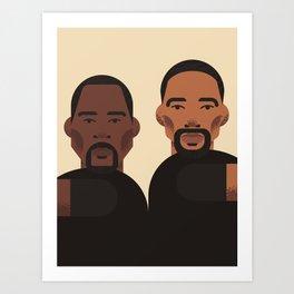 Bad Boys Art Print
