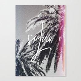 Solar Canvas Print