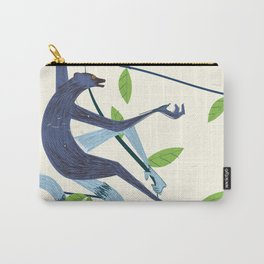 Sri Lanka Vintage style travel poster Carry-All Pouch