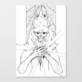 Heart of the lich Canvas Print