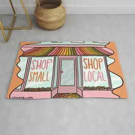 Shop Local Shop Small Rug